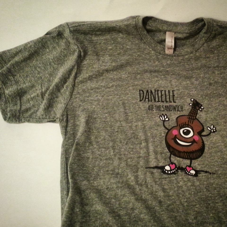 uke shirt - danielle ate the sandwich