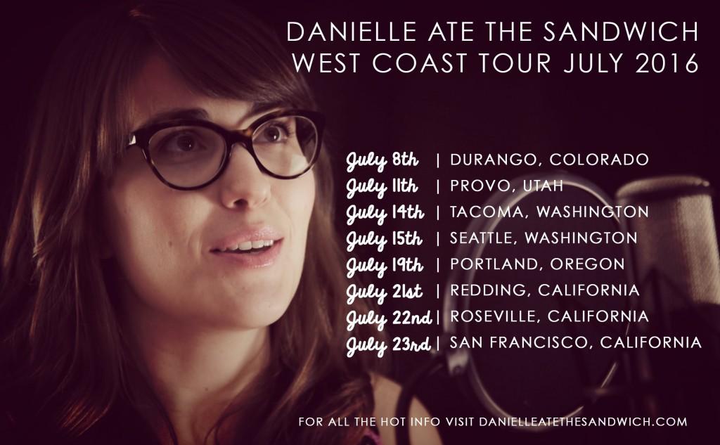 WEST COAST TOUR 2016