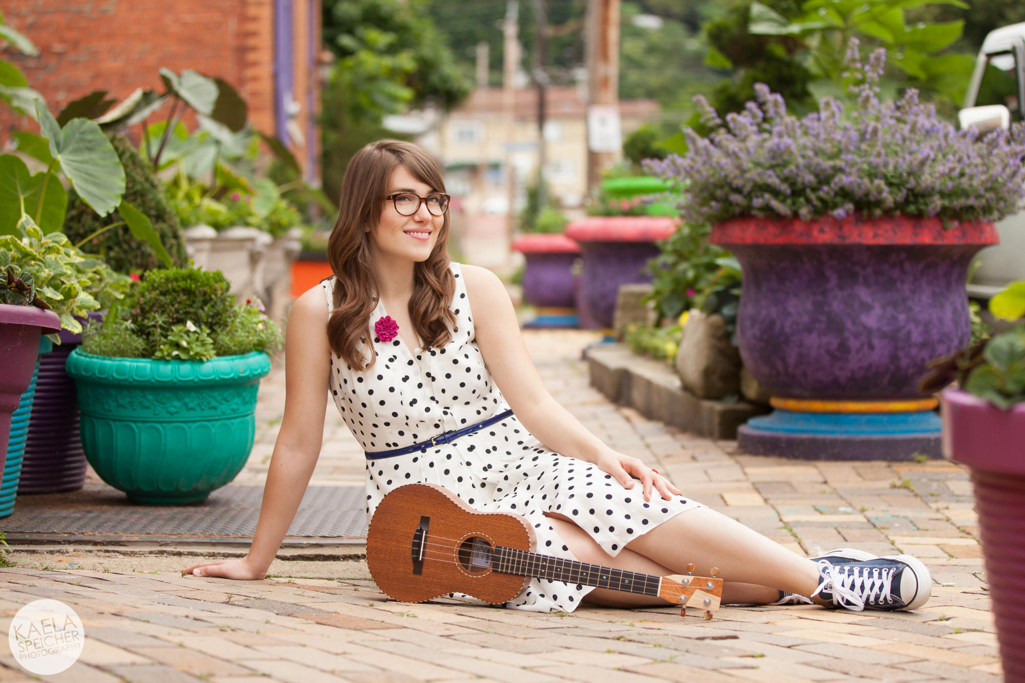Ukulele Lounging by Kaela Speicher Photography